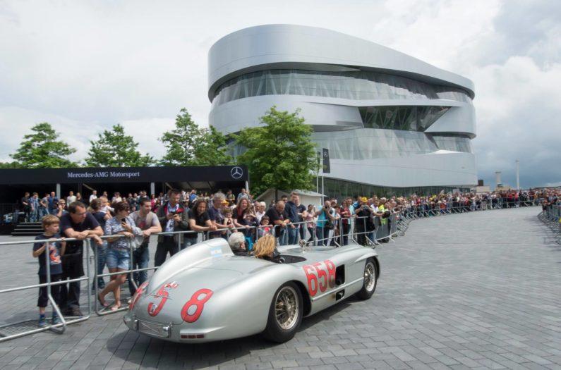 Brezencatering Brezenglück Mercedes Benz Museum Stuttgart